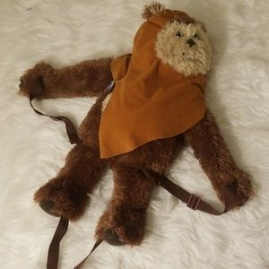 Star Wars stuffed Ewok backpack